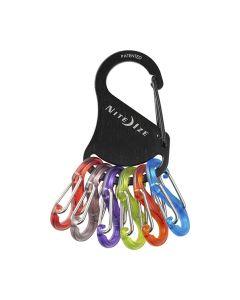 KeyRack S-Biner -avaimenperä, musta