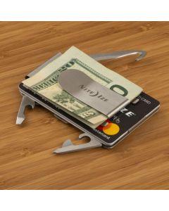 FinancialTool Money clip + Pocket Tools