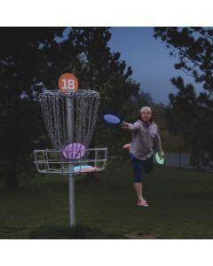 Flashflight LED frisbeegolf putteri,DiscO