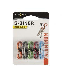 S-Biner MicroLock ALU 5-pk, värilajitelma