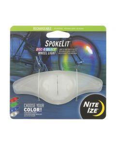 SpokeLit - Ladattava vannevalo DiscO select